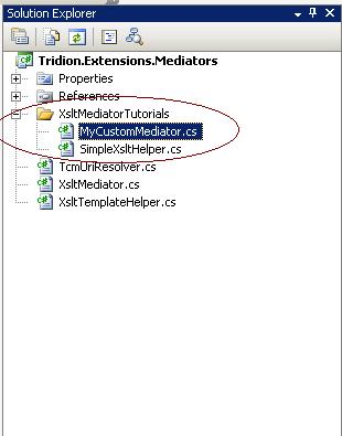 xslt mediator part2 - xslt mediator solution