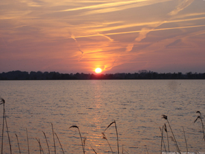 Water And Sunset - Holland