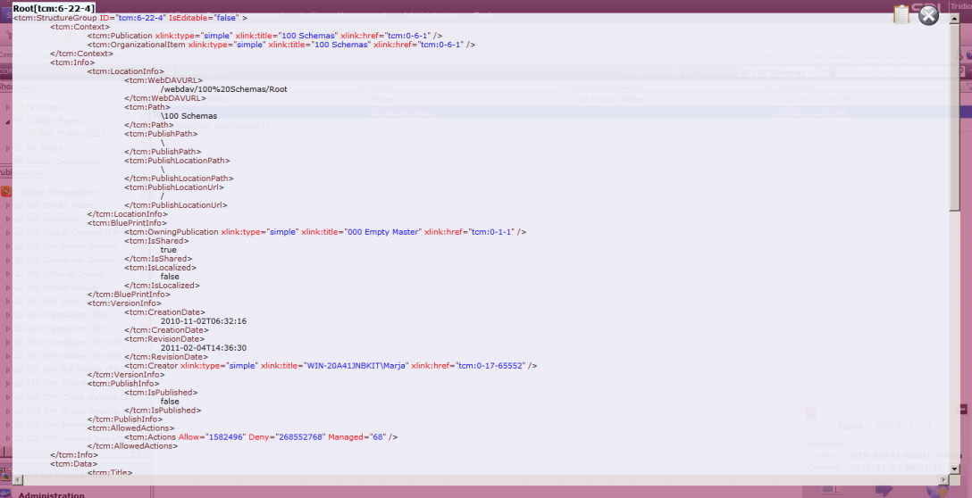 Extensions Manager - Example - Display Purple