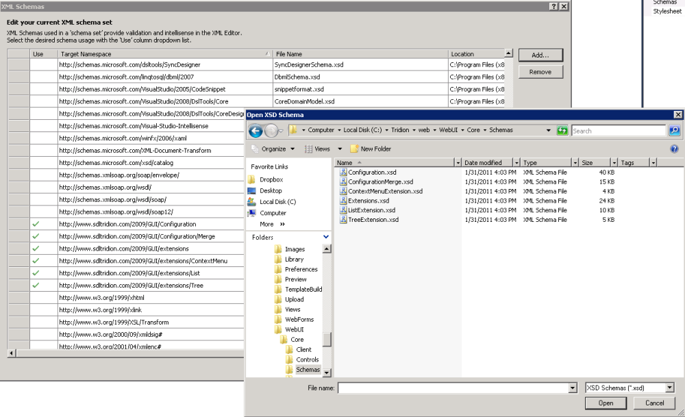 Setting up a Tridion 2011 GUI extension in 8 steps (2/6)